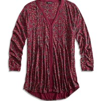 Lucky Brand Vintage Muse Top Womens