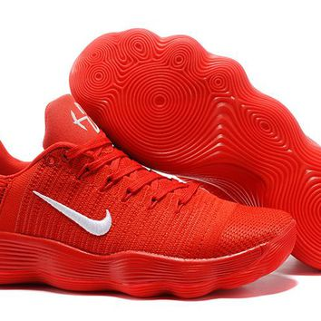 Nike Mens Hyperdunk Low 2017 TB Chinese Red Basketball Shoes