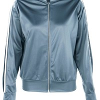 Holly Fit Sports Luxe Bomber Jacket