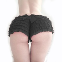 S-2XL Sexy Muliti Layered Mesh Ruffled Panty Women Intimates Underwear Lingerie Lace PLus Size Hot Panties