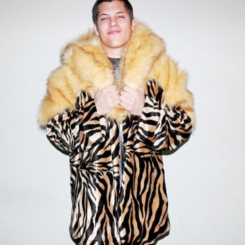 The Macklemore Inspired Coat // Faux Fur Coat