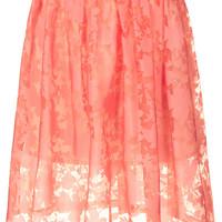 Burnout Floral Midi - New In This Week - New In - Topshop USA