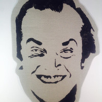 The Shining Jack Nicholson Handmade Sew-On Patch