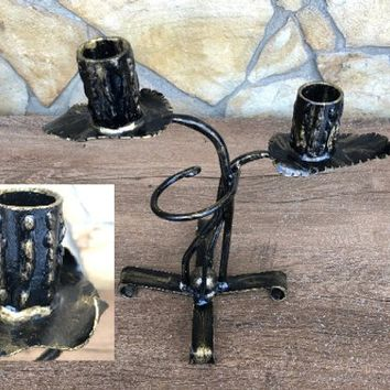 Candle holder, candle holder metal, candle stick, candle, candlestick holder, candle stand, candelabra, lighting, table decoration, for her