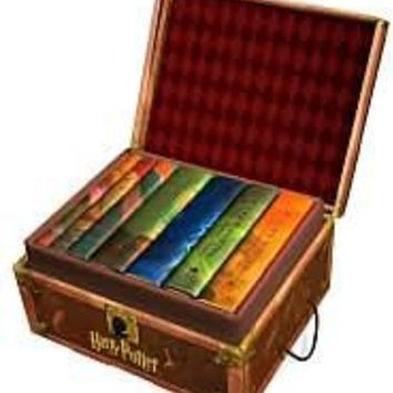 Harry Potter Hardcover Boxed Set (Books 1-7), Harry Potter Series, J. K. Rowling, (9780545044257) Hardcover - Barnes & Noble