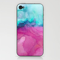 Tidal II iPhone & iPod Skin by Jacqueline Maldonado | Society6