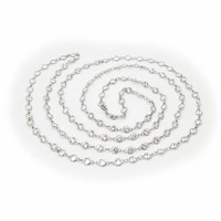 """CZ by the Yard Necklace, 40"""""""