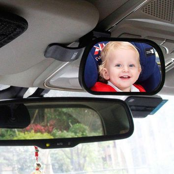 ONETOW 1Pcs Car Back Seat Baby View Mirror Safety Rear Ward Facing Monitor Safety Reverse Safety Seats Basket Mirror