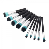 "10 pcs Cosmetic Makeup Brushes Set ""Available in Colors"""