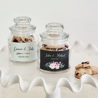 Mini Cookie Jars - Floral Garden