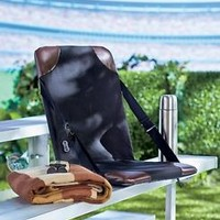 Heated Stadium Seat With Backrest Back Support Sporting Events Outdoor Camping