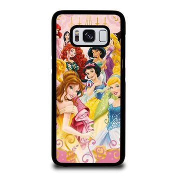DISNEY PRINCESS Samsung Galaxy S3 S4 S5 S6 S7 Edge S8 Plus, Note 3 4 5 8 Case Cover