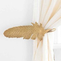 Magical Thinking Feather Curtain Tie-Back