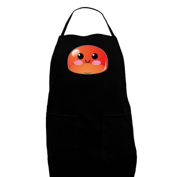 Cute RPG Slime - Red Dark Adult Apron by TooLoud