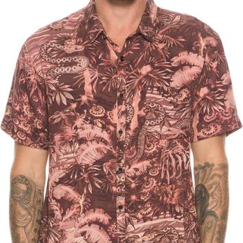 QUIKSILVER PYTHON JUNGLE SHORT SLEEVE SHIRT
