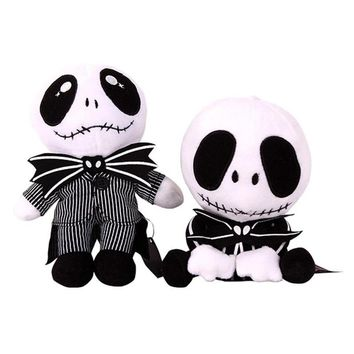 The Nightmare Before Christmas Jack Skeleton Bendy and the Ink Machine Plush Toys Stuffed Dolls toy for children's gift