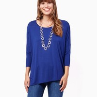 Layla Asymmetric Top | Fashion Apparel and Clothing – Shirts and Tops | charming charlie