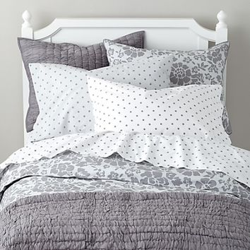 Dream Girl Kid Bedding (Grey) in Girl Bedding | The Land of Nod