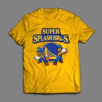 THE SPLASH BROTHERS KLAY THOMPSON & STEPH CURRY T-SHIRT