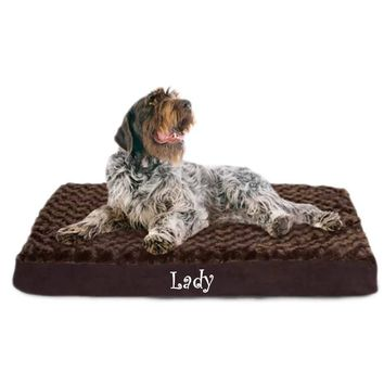 Personalized Orthopedic Dog bed / pampered pet place