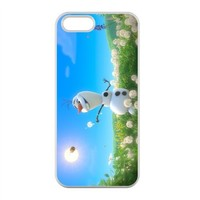 Frozen Disney 3D Cartoon Case for iPhone 5,5S 100% TPU (Laser Technology)