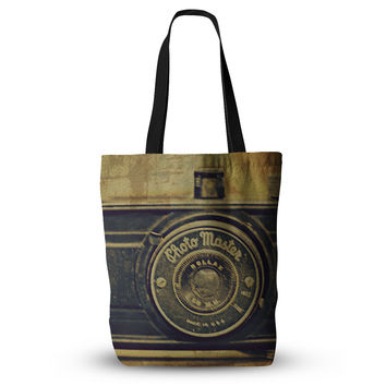 "Robin Dickinson ""Discarded Treasure"" Vintage Camera Everything Tote Bag"