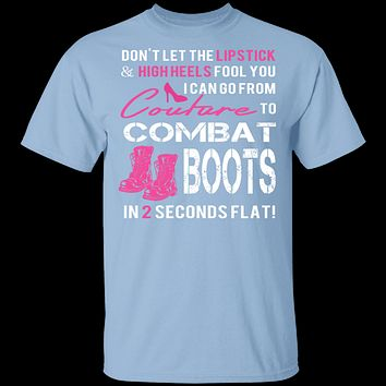 Couture to Combat Boots T-Shirt