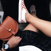 DCCKBWS Vans Vault OG Classic Slip-On Lx Canvas Old Skool Checkerboard Flats Shoes Sneakers Sp