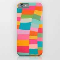 colorful patchwork iPhone & iPod Case by Her Art