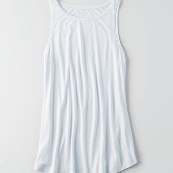 AEO Soft & Sexy Boatneck Tank , Light Blue