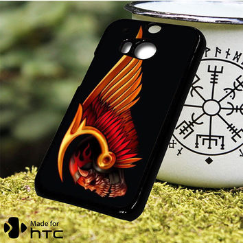 Hells Angels Skull HTC One M7, One M8, One M9, One M9 Plus, One M10 Case