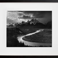The Tetons, Snake River (Framed + Ready To Ship)