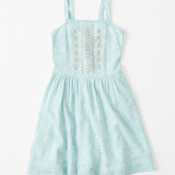 girls Fitted Shine Skater Dress | girls clearance | Abercrombie.com