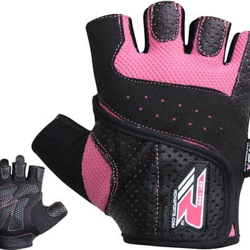 RDX Ladies Gel Gloves Fitness Gym Wear Weight Lifting Workout Training Cycling P