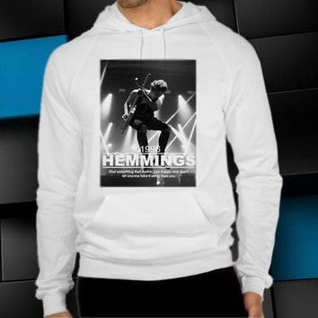 luke hemmings unisex hoodie, clothing men woman, sweater