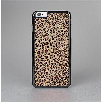 The Brown Vector Leopard Print Skin-Sert Case for the Apple iPhone 6 Plus