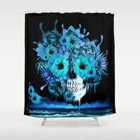 Ponce Shower Curtain by Kristy Patterson Design