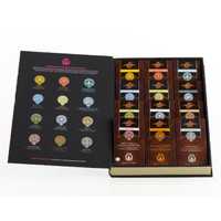 New! The Hunger Games Wild Ophelia Chocolate Bar Library, 12 Bars
