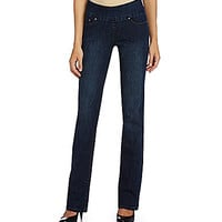 Jag Jeans Paley Bootcut Pull-On Jeans - Blue Shadow