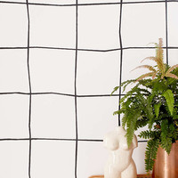 Wonky Grid Removable Wallpaper - Urban Outfitters