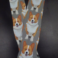 Corgi Dog Socks- Dog Socks - Need a Diff. Breed? WE Can make them!!