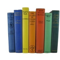 Rainbow Decorative Book Collection, S/7