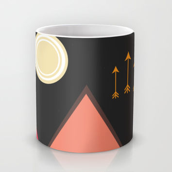 Full Moon, Desert Mountain Mug by DuckyB (Brandi)
