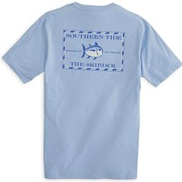Original Skipjack Tee Shirt in True Blue by Southern Tide