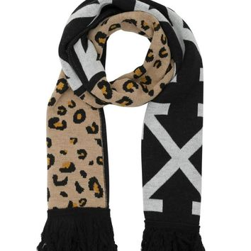 Animalier Scarf by OFF-WHITE