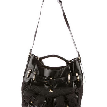 Burberry Quilted Hobo