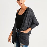 AE Plush Pocket Cardigan, Charcoal