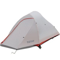 FLYTOP Ultralight Camping Tents 1 - 2 Person Aluminium Pole 20D Silicon Waterproof Hiking Tents