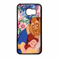 Beauty And The Beast Floral Vintage Samsung Galaxy S6 Case