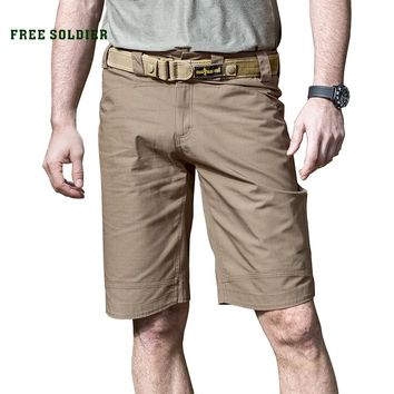 FREE SOLDIER Outdoor tactical camping hiking shorts, wear-proof breathable breeches spring-summer men's tactical shorts